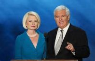 Volunteer Mark Edelman saw Newt Gingrich and Ambassador Calista Gingrich in Terminal C